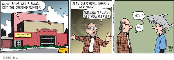 Comic Strip Greg Evans  Luann 2010-02-15 extracurricular activity