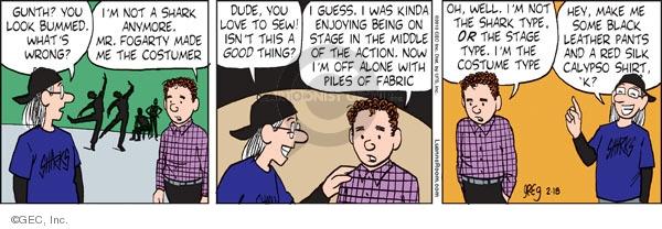 Comic Strip Greg Evans  Luann 2010-02-18 middle