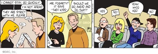 Comic Strip Greg Evans  Luann 2010-02-25 drama