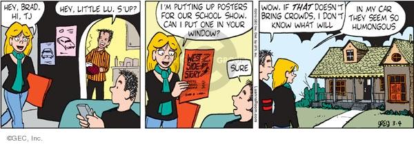 Comic Strip Greg Evans  Luann 2010-03-04 show