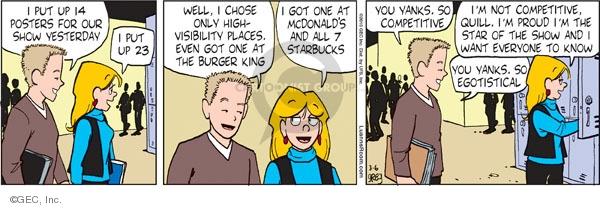 Comic Strip Greg Evans  Luann 2010-03-06 location