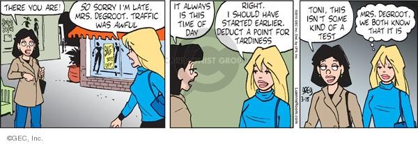 Comic Strip Greg Evans  Luann 2010-03-15 earlier