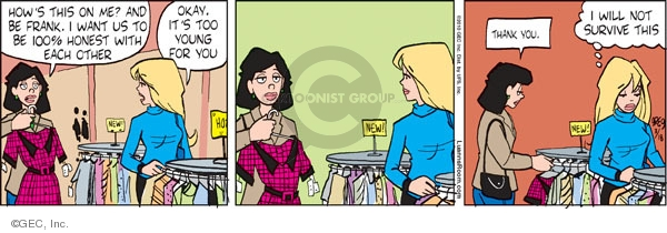 Comic Strip Greg Evans  Luann 2010-03-19 older