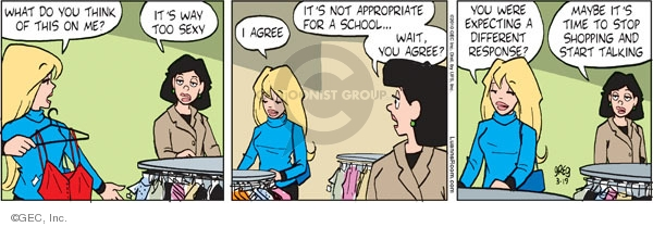 Comic Strip Greg Evans  Luann 2010-03-19 expecting