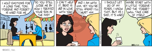 Comic Strip Greg Evans  Luann 2010-03-20 Brad