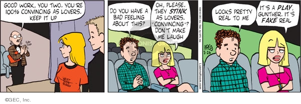 Cartoonist Greg Evans  Luann 2010-03-26 review