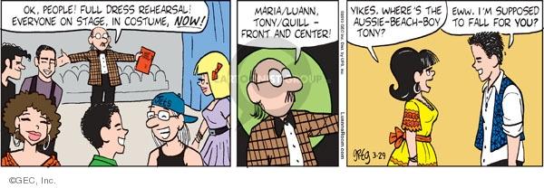 Comic Strip Greg Evans  Luann 2010-03-29 theater