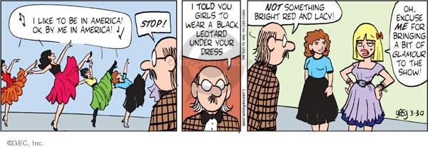 Comic Strip Greg Evans  Luann 2010-03-30 school play