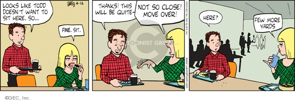 Comic Strip Greg Evans  Luann 2010-04-16 teen