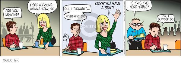 Comic Strip Greg Evans  Luann 2010-04-19 clique