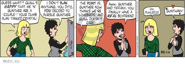 Comic Strip Greg Evans  Luann 2010-04-28 tank