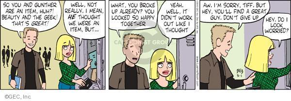 Comic Strip Greg Evans  Luann 2010-05-02 give