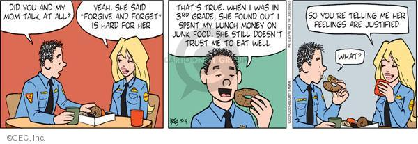 Comic Strip Greg Evans  Luann 2010-05-04 childhood