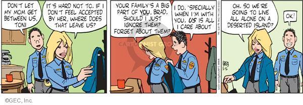 Comic Strip Greg Evans  Luann 2010-05-05 feel