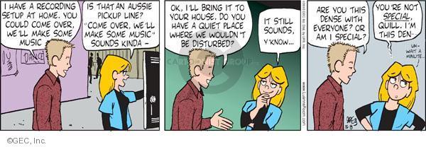 Comic Strip Greg Evans  Luann 2010-05-08 vocal