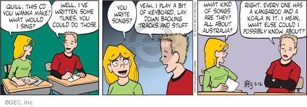 Comic Strip Greg Evans  Luann 2010-05-12 tune