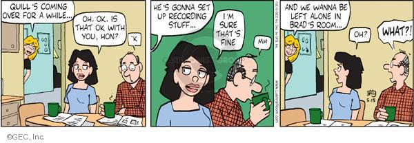 Comic Strip Greg Evans  Luann 2010-05-15 Brad