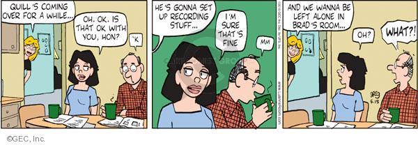 Comic Strip Greg Evans  Luann 2010-05-15 parenthood