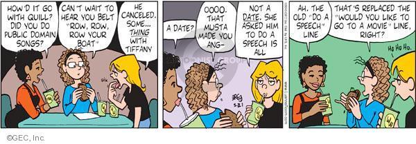 Comic Strip Greg Evans  Luann 2010-05-21 belt