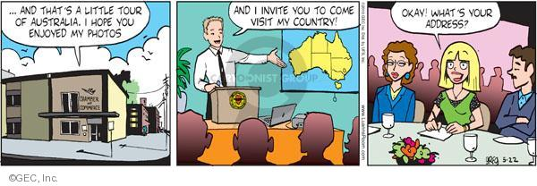 Comic Strip Greg Evans  Luann 2010-05-22 tour