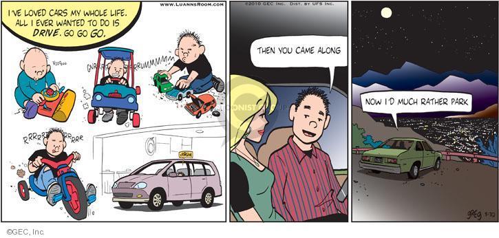 Comic Strip Greg Evans  Luann 2010-05-30 car