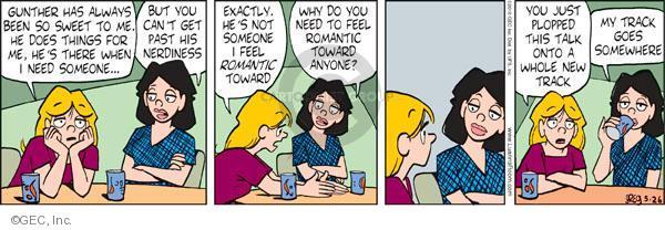 Comic Strip Greg Evans  Luann 2010-05-26 romance