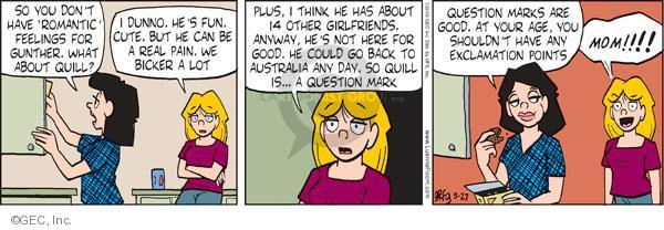 Comic Strip Greg Evans  Luann 2010-05-27 feel good