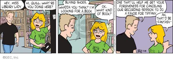 Comic Strip Greg Evans  Luann 2010-05-28 cancel