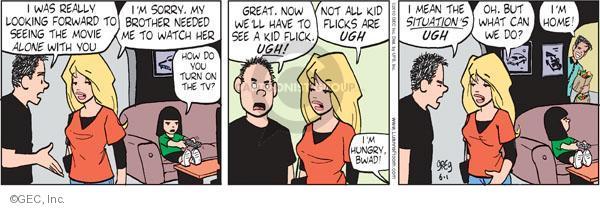 Comic Strip Greg Evans  Luann 2010-06-01 niece
