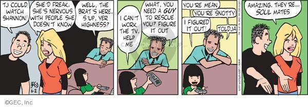 Comic Strip Greg Evans  Luann 2010-06-02 watch