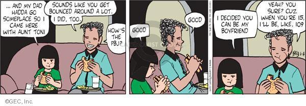 Comic Strip Greg Evans  Luann 2010-06-04 childhood