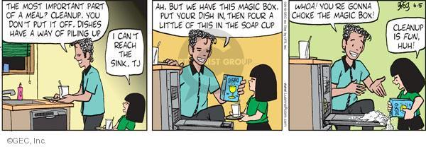 Comic Strip Greg Evans  Luann 2010-06-05 chore