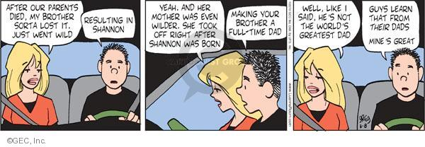 Comic Strip Greg Evans  Luann 2010-06-08 parenthood
