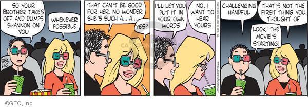 Comic Strip Greg Evans  Luann 2010-06-10 challenge