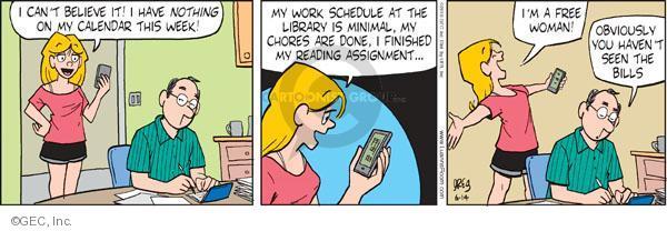 Comic Strip Greg Evans  Luann 2010-06-14 week
