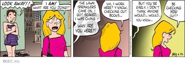 Comic Strip Greg Evans  Luann 2010-06-22 work clothes