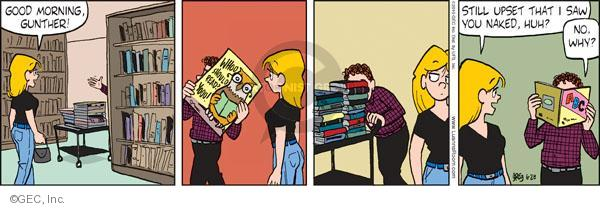 Comic Strip Greg Evans  Luann 2010-06-28 bare