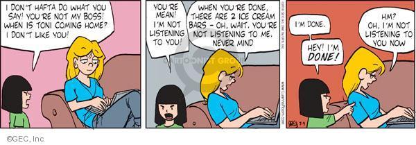 Comic Strip Greg Evans  Luann 2010-07-09 psychology
