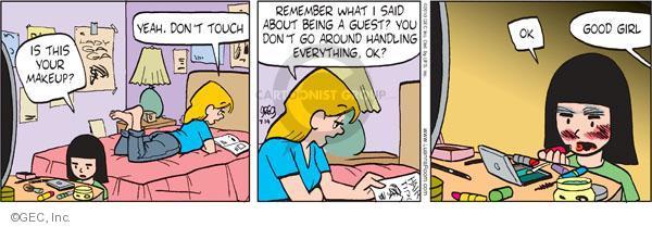 Comic Strip Greg Evans  Luann 2010-07-14 product