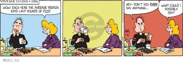 Comic Strip Greg Evans  Luann 2010-07-21 family