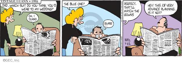 Comic Strip Greg Evans  Luann 2010-07-22 parenthood