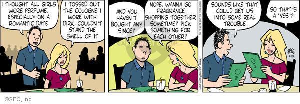Comic Strip Greg Evans  Luann 2010-07-29 scent