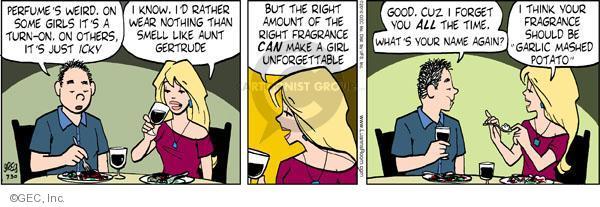 Comic Strip Greg Evans  Luann 2010-07-30 amount