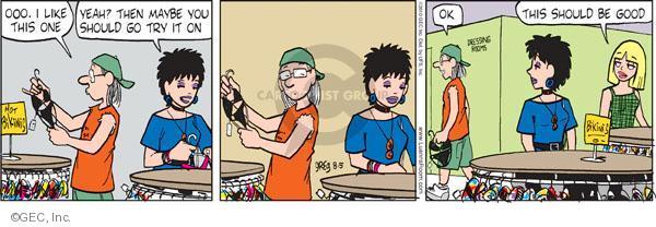 Comic Strip Greg Evans  Luann 2010-08-05 dressing