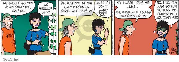 Cartoonist Greg Evans  Luann 2010-08-09 fun