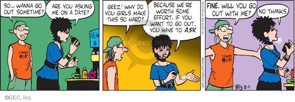 Cartoonist Greg Evans  Luann 2010-08-11 date