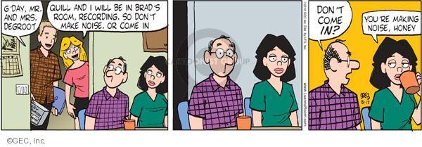Comic Strip Greg Evans  Luann 2010-08-17 family room