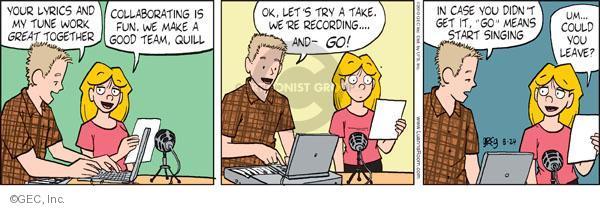 Cartoonist Greg Evans  Luann 2010-08-24 fun