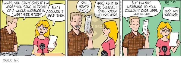 Comic Strip Greg Evans  Luann 2010-08-25 dum
