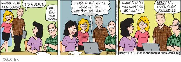 Cartoonist Greg Evans  Luann 2010-08-28 date